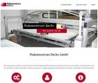 Webseite der Plakatzentrum Berlin GmbH online - Spezialist für Mega-Light-Board Plakate aus Berlin