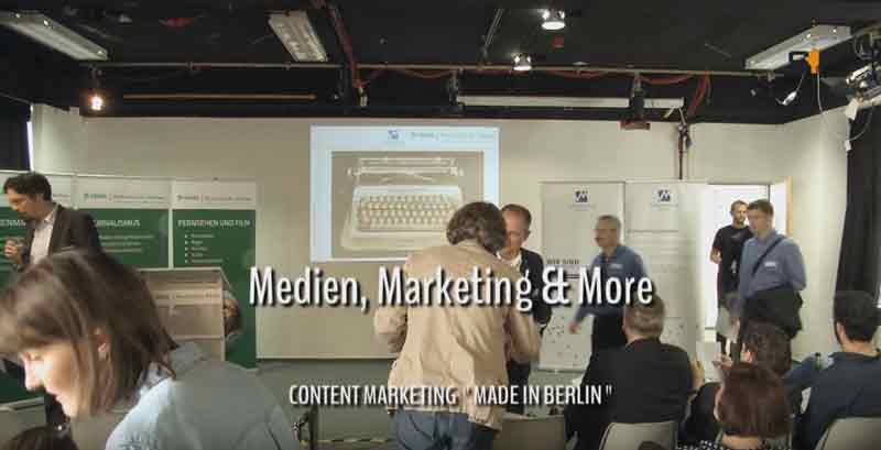 Content Marketing - was ist das? Interview mit Thorsten Doil bei mmmBerlin2016